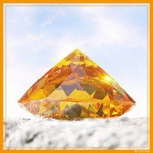 Avatar-Diamant gold klein