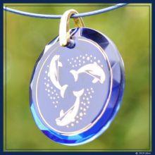 Delfin-Medaillon