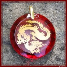 Drachen-Medaillon