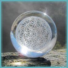 Blume-des-Lebens-Kugel diamant