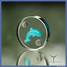 Delfin-Medaillon für Tiere