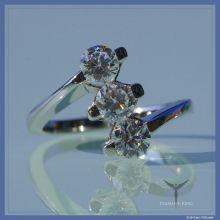 Diamantring kristallklar