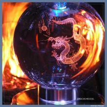 Drachen-Kugel diamant