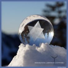 Merkaba-Kugel diamant