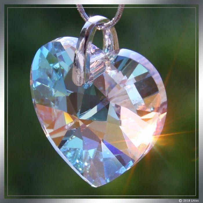 Kristall-Herz groß