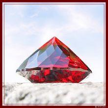Avatar-Diamant rubinrot klein