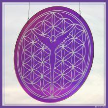 Blume des Lebens-Designglas