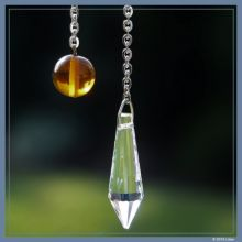 Kristall-Engel-Pendel