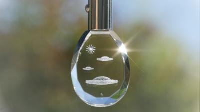 Lichtkristall des Monats: Ashtar-Schlüsselanhänger