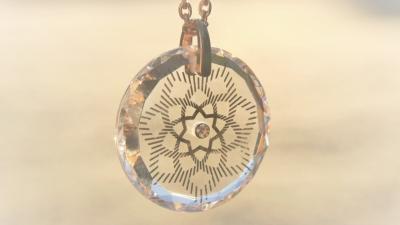 Lichtkristall des Monats: Ashtar-Medaillon