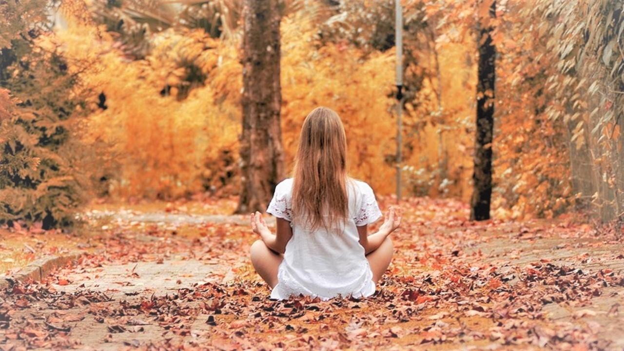 Meditation Herbst