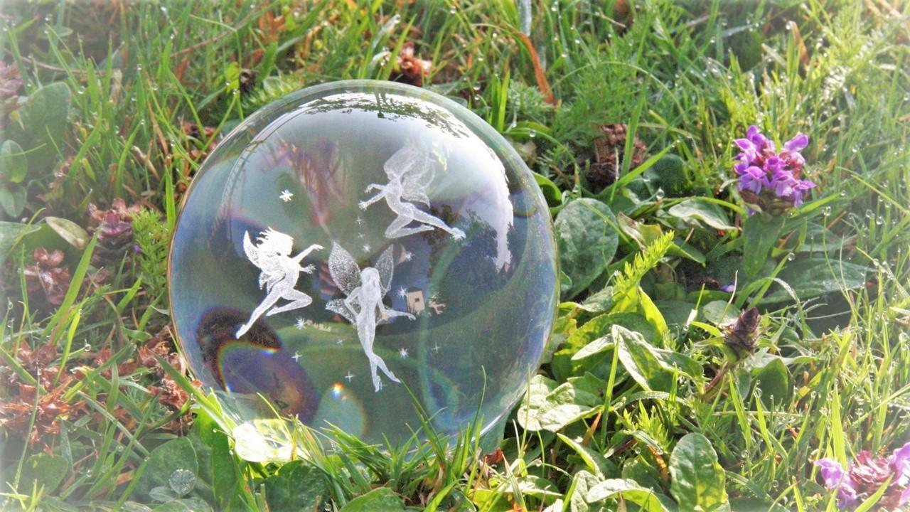 Erdheilung mit Lichtkristallen